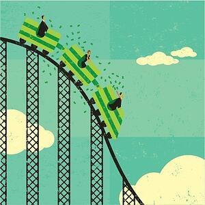 riding out the stock market roller coaster