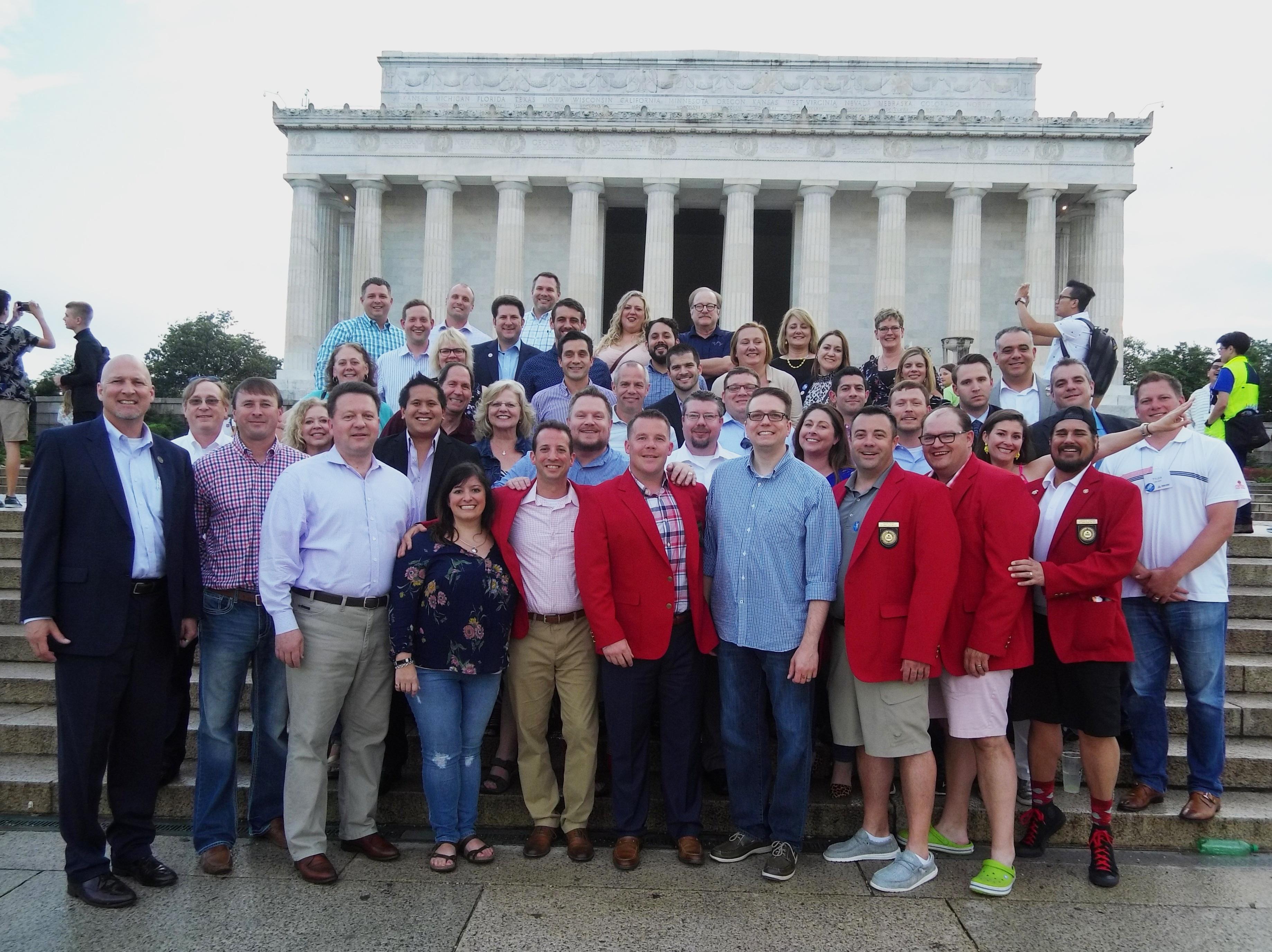 Group at Lincoln