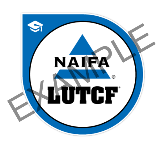 LUTCF Digital Badge